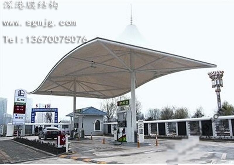 电动汽车充电站,新能源汽车充电桩, 膜结构充电桩, 张拉膜充电桩